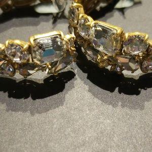 Stunning Jcrew crystal earrings